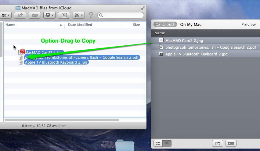 Dragging files from Open-File Dialog to Finder