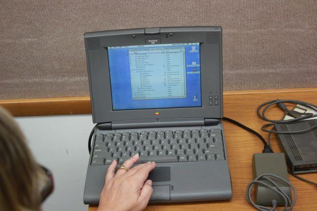 Vintage Color Mac Laptop