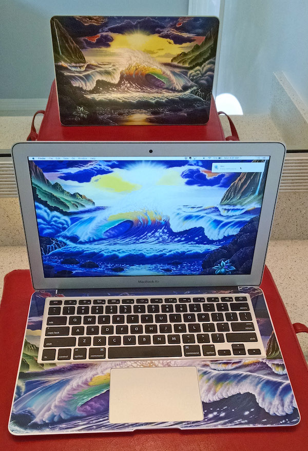 MacBook Air with Skin